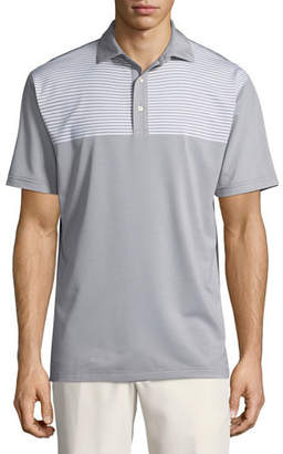 Peter Millar Oberline Engineered Stripe Polo Shirt