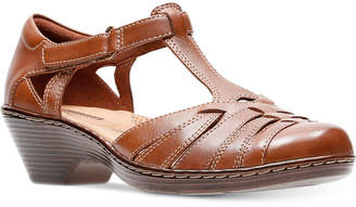Clarks Collection Women's Wendy Alto Mary Jane Flats Women's Shoes
