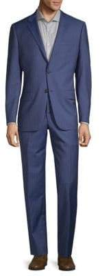 Hickey Freeman Regular-Fit Pinstripe Wool Suit