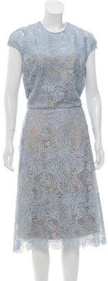 Reem Acra Lace Sleeveless Dress w/ Tags