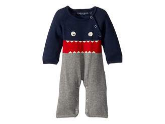 Toobydoo Little Monsters I Cotton Knit Jumpsuit (Infant)