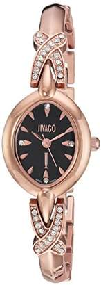 Jivago Women's 'Via' Quartz Stainless Steel Casual Watch
