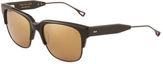 Dita Oversized Brow-Line Acetate Sunglasses