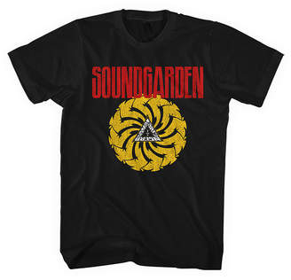 Novelty T-Shirts SoundGarden Spiral Graphic Tee
