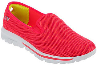 As Is Skechers GOwalk Slip-on Mesh Sneakers - Dazzle $34.50 thestylecure.com