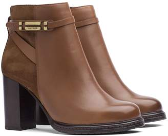 Tommy Hilfiger Leather And Suede Ankle Boot