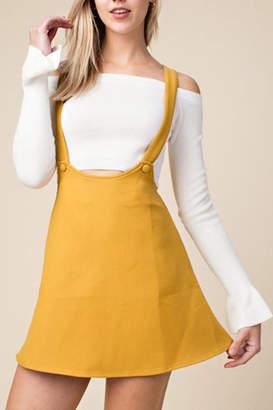 Honey Punch Overall Skater Dress