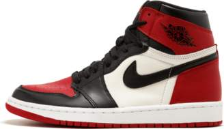 Jordan 1 Retro High 'Bred Toe' - Red/Black