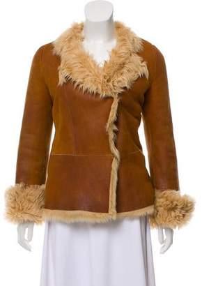 Joseph Leather Sheepskin Jacket
