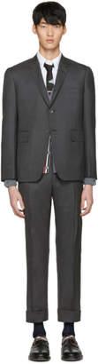 Thom Browne Grey Classic Suit