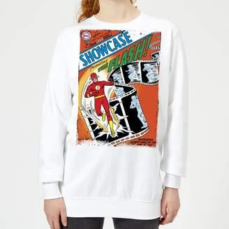 Justice League Showcase Presenting The Flash Cover Women's Sweatshirt