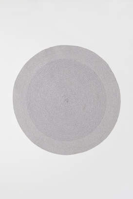 H&M Round Bath Mat - Gray