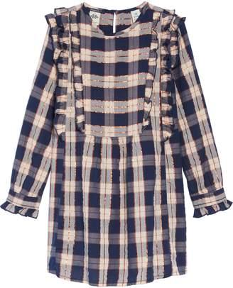 Scotch R'Belle Ruffle Plaid Dress