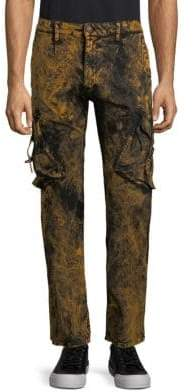 Washed Moto Jeans