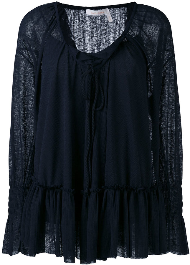 See By Chloe See By Chloé ruffle blouse