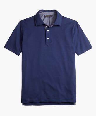 Brooks Brothers Slim Fit Vintage Jacquard Polo Shirt