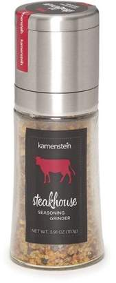 Kamenstein Steakhouse Blend Stainless Steel and Glass Spice Grinder
