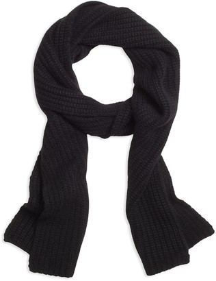 Brooks Brothers Ribbed Cashmere Scarf