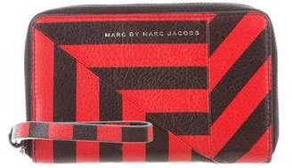 Marc by Marc Jacobs Striped Leather Wallet