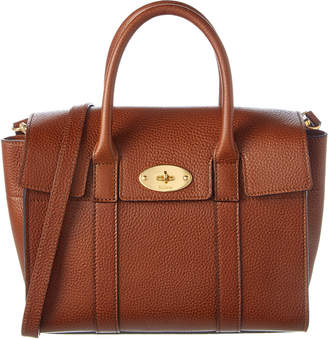 Mulberry New Bayswater Small Natural Grain Leather Satchel