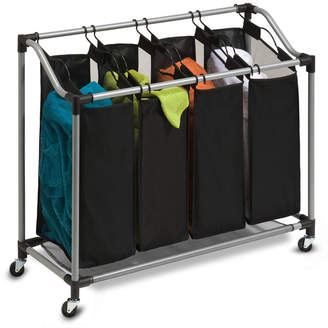 Honey-Can-Do Hampers, Deluxe Quad Laundry Sorter