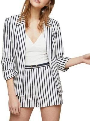 Miss Selfridge Wide Stripe Blazer