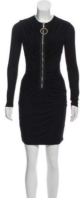 Givenchy Zipper-Accented Mini Dress