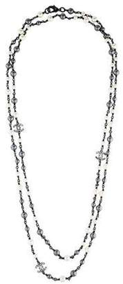 Chanel Crystal & Faux Pearl Necklace