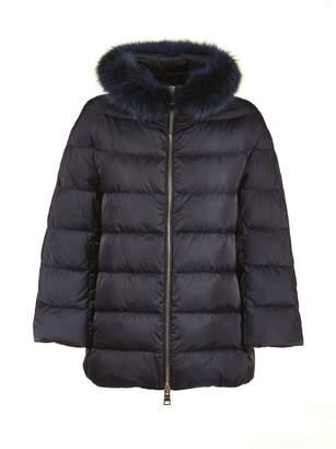 Herno Fur Collar Padded Jacket