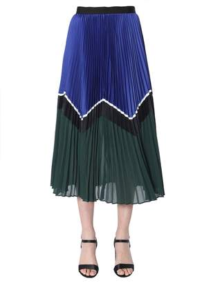 Self-Portrait Self Portrait Midi Skirt