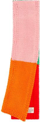 Tory Sport HAND-KNIT COLOR-BLOCK SCARF