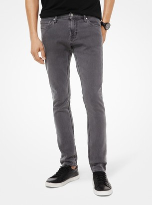 Michael Kors Kent Skinny-Fit Stretch-Cotton Jeans