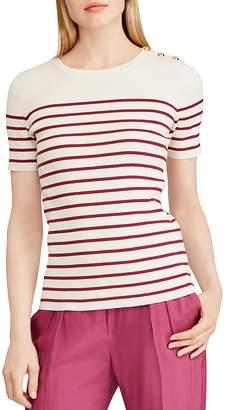 Lauren Ralph Lauren Striped Sailor Top