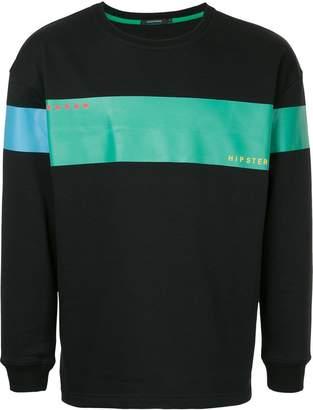 GUILD PRIME stripe detail sweatshirt