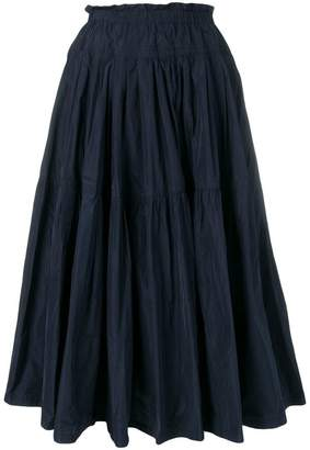 Odeeh flared skirt