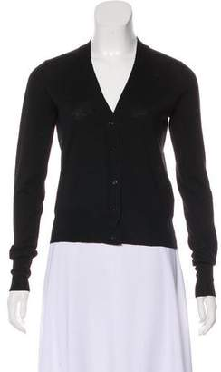 Rochas Lightweight Wool Cardigan