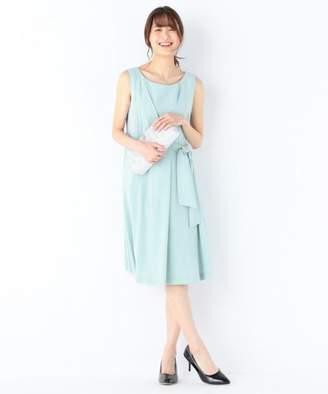 Kumikyoku (組曲) - KUMIKYOKU(L SIZE) 【結婚式やパーティに】バックサテンディティール ドレス
