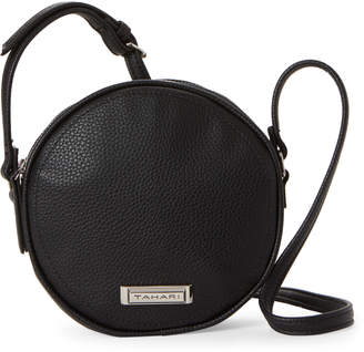 Tahari Black Mini Cantina Crossbody