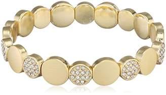 Pilgrim Women Gold Plated Stretch Bracelet - 601632062