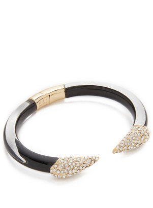Alexis Bittar Encrusted Pyramid Brake Hinge Bracelet $165 thestylecure.com