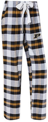 Concepts Sport Women's Purdue Boilermakers Homestretch Flannel Pajama Pants