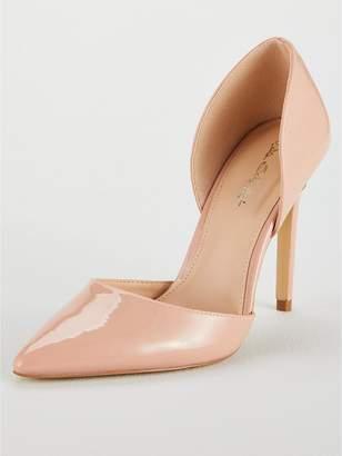 Miss Selfridge Patent Court Shoe - Nude