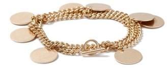 Topman Mens Gold Coin Bracelet*