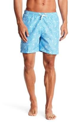 Trunks Surf and Swim CO. Geo Shark Printed Board Shorts