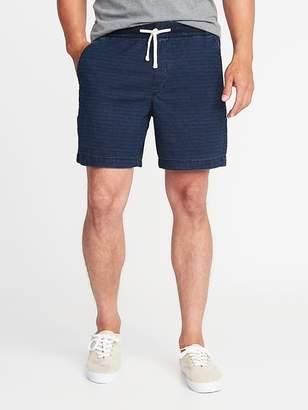 """Old Navy Built-In Flex Drawstring Jogger Shorts for Men (7"""")"""