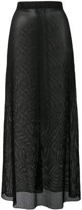 Fisico fishnet style skirt