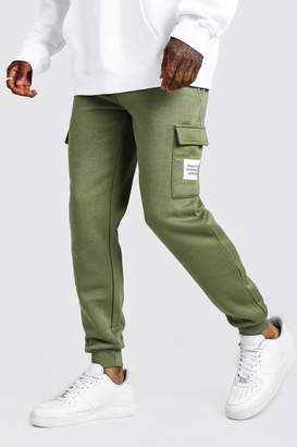 boohoo MAN Official Slim Fit Cargo Jogger