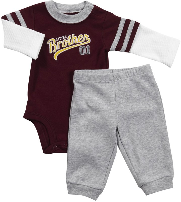 Carter's Bodysuit & Pant Set - Brother-NB
