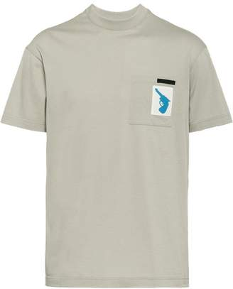 Prada pocket plain T-shirt