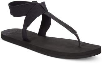 Reef Cushion Moon T-Strap Flat Sandals Women's Shoes